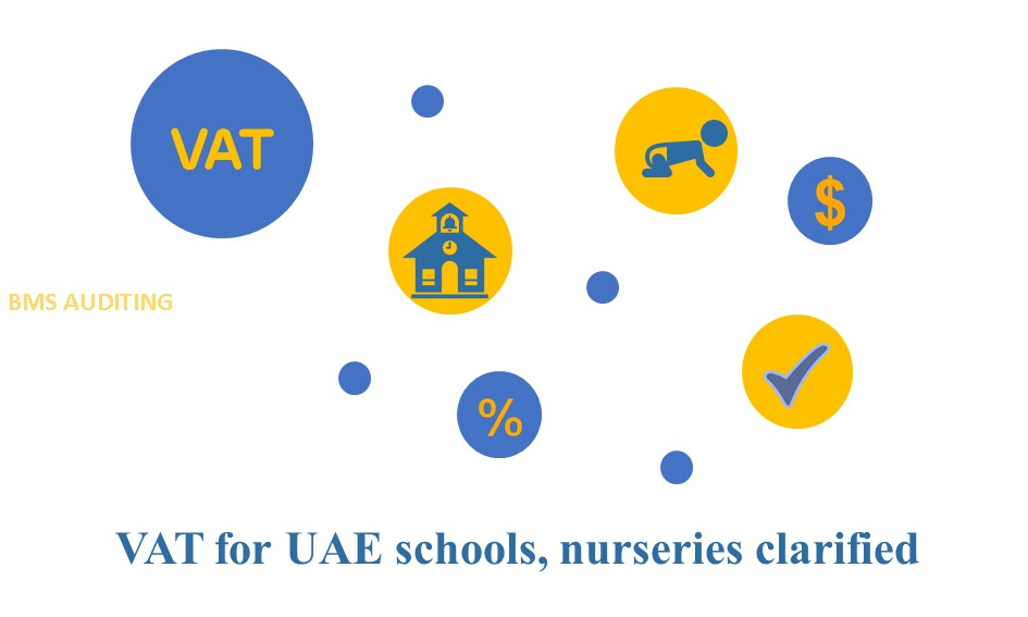 VAT for UAE schools, nurseries clarified